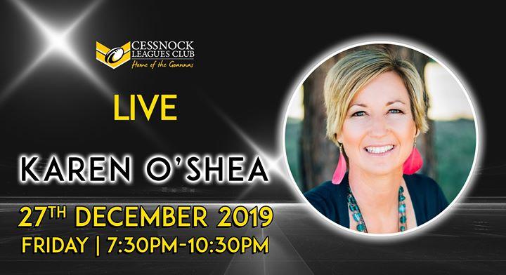 Karen O'Shea – LIVE
