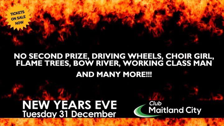 TWO FIRES Chisel Barnes Show – NYE – Club Maitland City