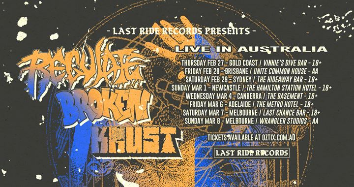 Regulate (USA) w/ Broken & Krust – Newcastle