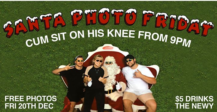 Santa Photo Friday at The Newy | Free Photos + Entry & $5 Drinks