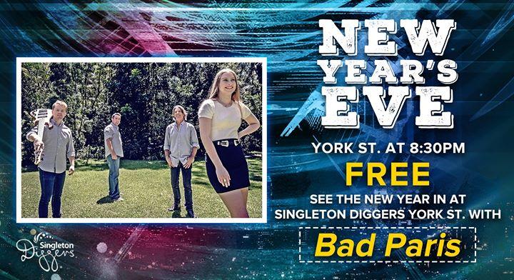 New Years Eve – York St.