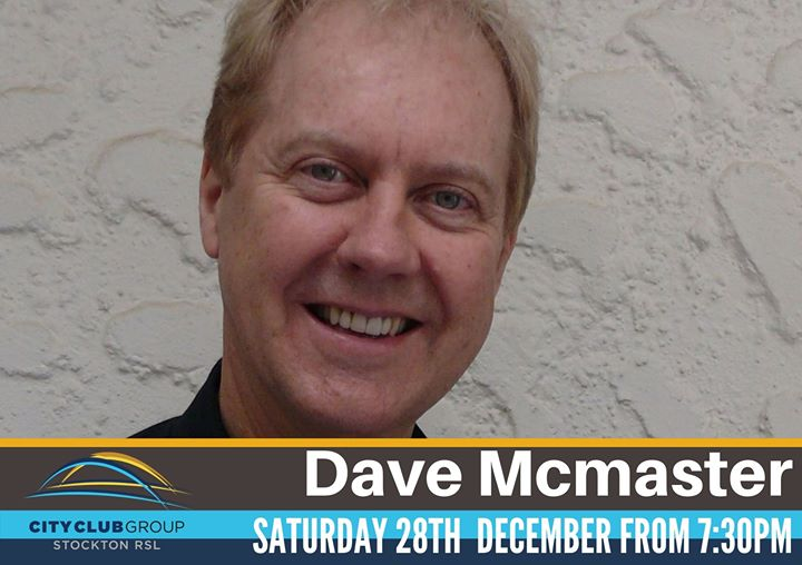 David McMaster – Live In The Sports Lounge