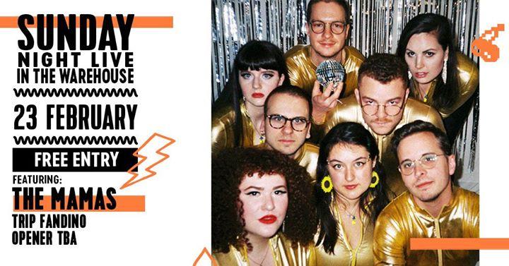 Sunday Night Live ft. The Mamas Dancefloor Tour // Newcastle