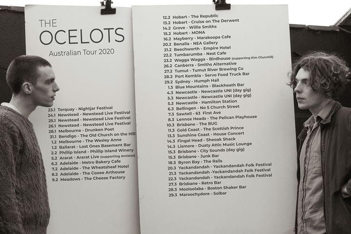 The Ocelots (IRL) – Australian Tour – The Hamilton Station Hotel