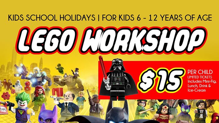 Lego Workshop #1 – Toronto Workers Club