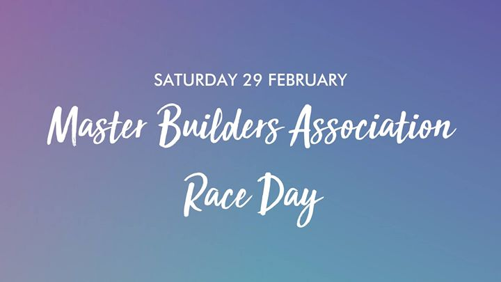 Master Builders Association Race Day