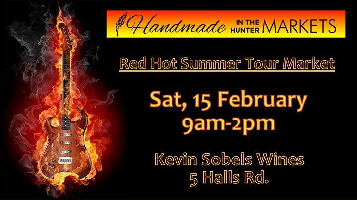 Handmade in the Hunter Red Hot Summer Tour Market