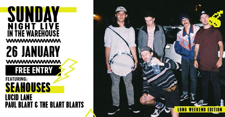 Sunday Night Live ft. Seahouses, Lucid Lane + more