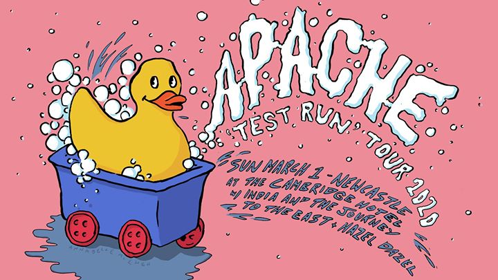 Apache 'Test Run' Tour – Newcastle at The Cambridge (Free Entry)