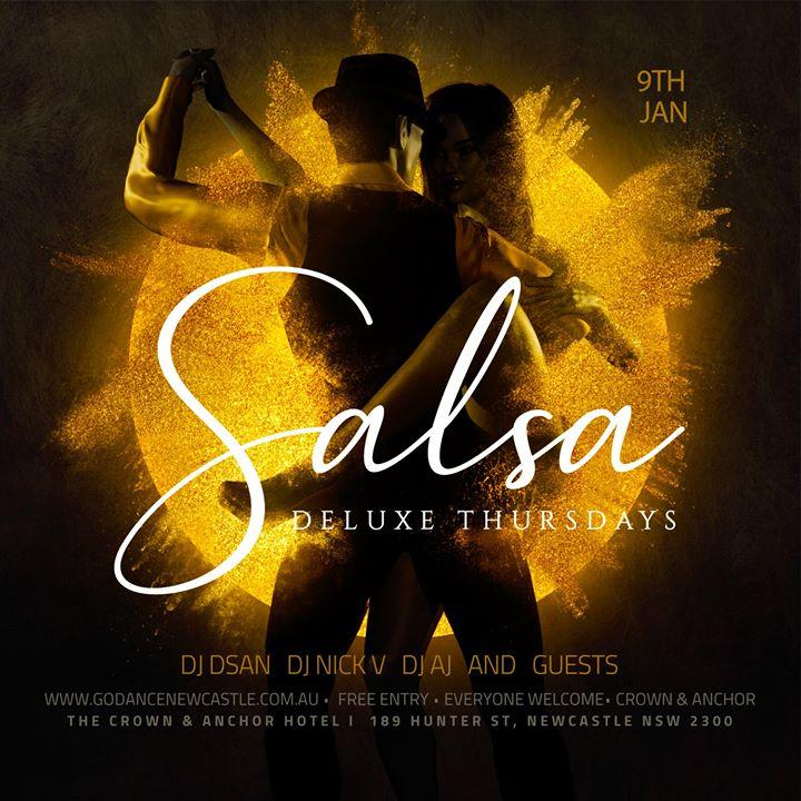 Deluxe Salsa Thursdays (Crown & Anchor)