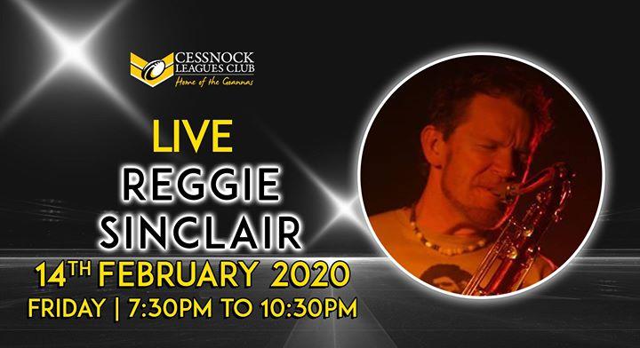 Reggie Sinclair – LIVE