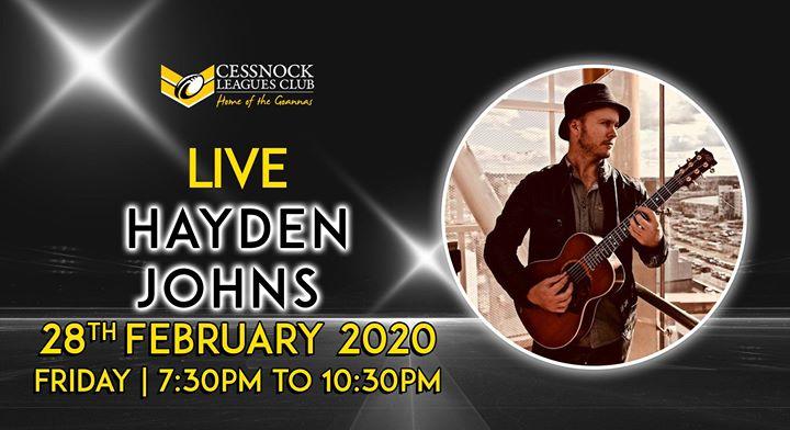 Hayden Johns – LIVE