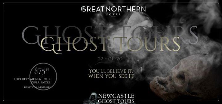 Great Northern Ghost Tour I Newcastle Ghost Tours