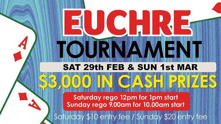 Euchre Tournament at Cardiff RSL Club