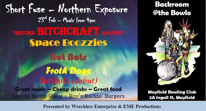 Short Fuse-Northern Exposure-Bands from Vol 1 , 2 and future