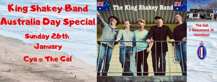 King Shakey at The Gal Sunday Sessions Australia Day Special