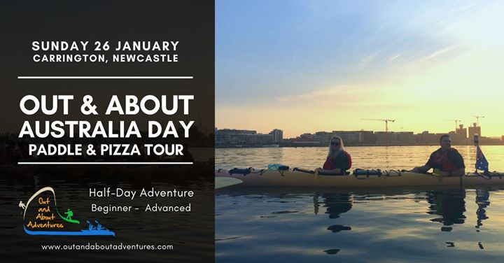 Out & About Australia Day Paddle & Pizza – Newcastle Harbour