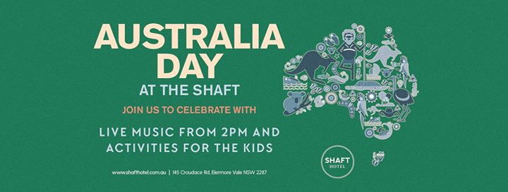 Australia Day at The Shaft!