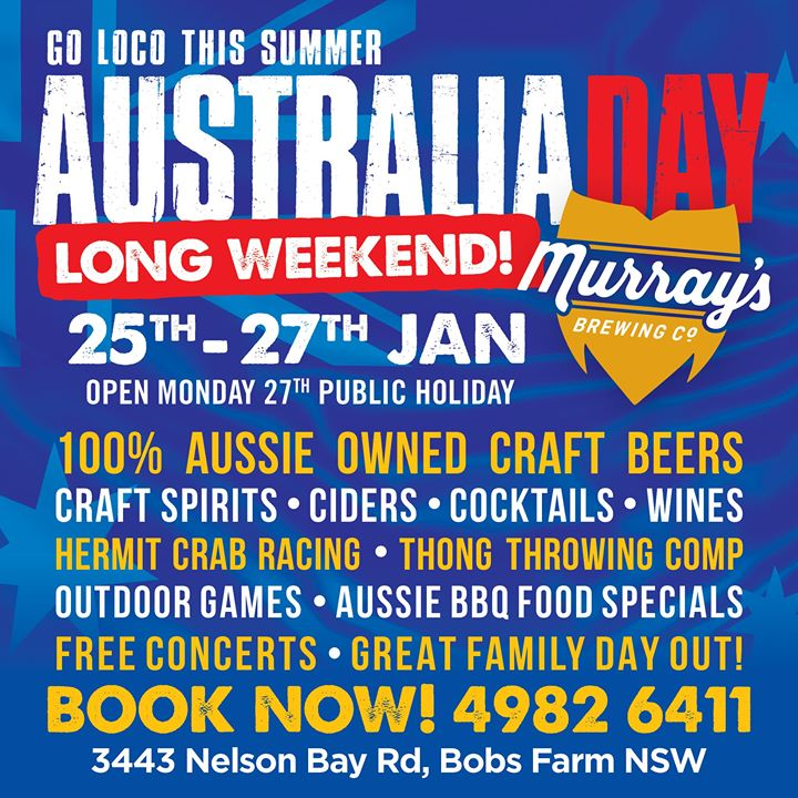 Australia Day Weekend