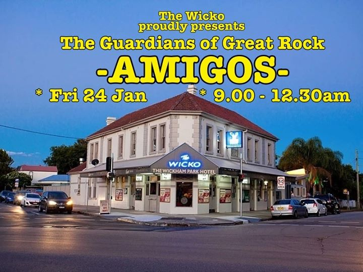 Amigos will be rocking The Wickham Park Hotel Friday
