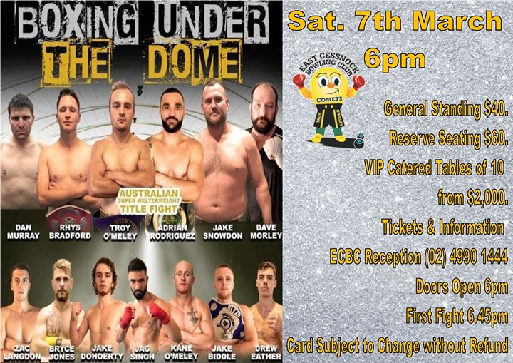 Boxing Under the Dome