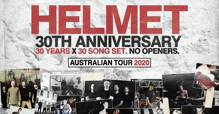 Helmet 30 Years 30 Songs (Newcastle)