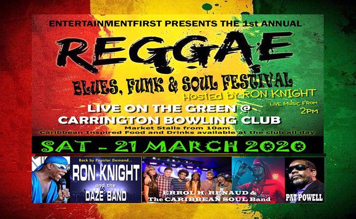 Reggae, Blues, Funk & Soul Festival 2020