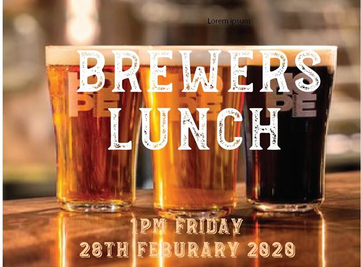 Brewers Lunch & Comedy show with Hope Estate