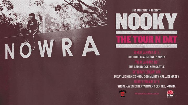 Nooky 'The Tour N Dat' NSW Tour