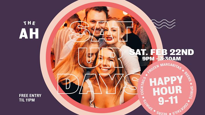 Saturdays at The AH – Indoor Outdoor Party Place