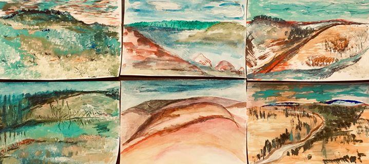 Watercolour Postcard Workshop