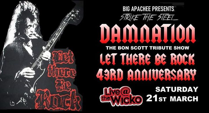 Let There Be Rock Anniversary w/ Damnation & Dogs Are Talking