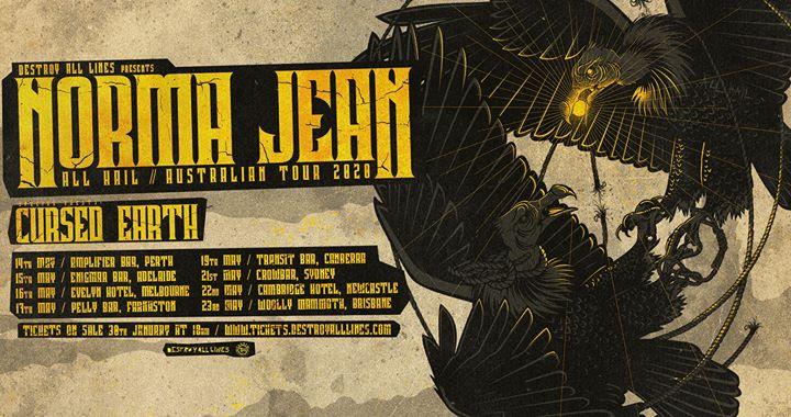 Norma Jean 'All Hail' Aus Tour – Newcastle