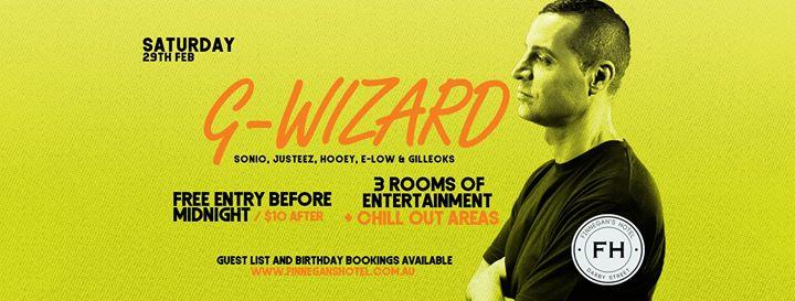 G-Wizard // Saturdays at Finnegan's