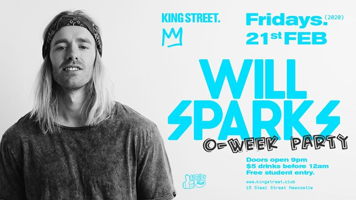 Will Sparks • O-Week Party
