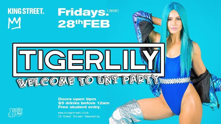 Tigerlily • Free Student Entry