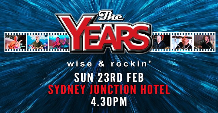 The Years at Sydney Junction Hotel
