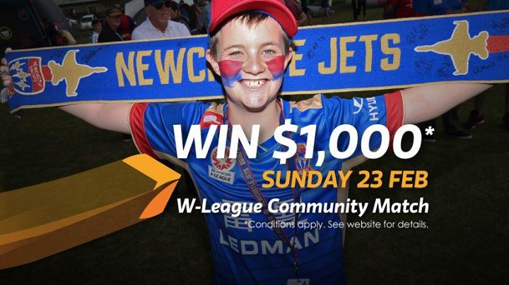 Newcastle Jets W-League Community Match