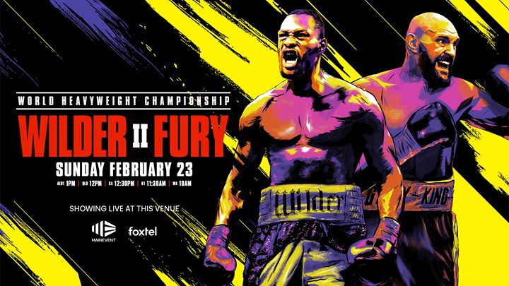 Boxing – Tyson Fury VS Deontay Wilder 2