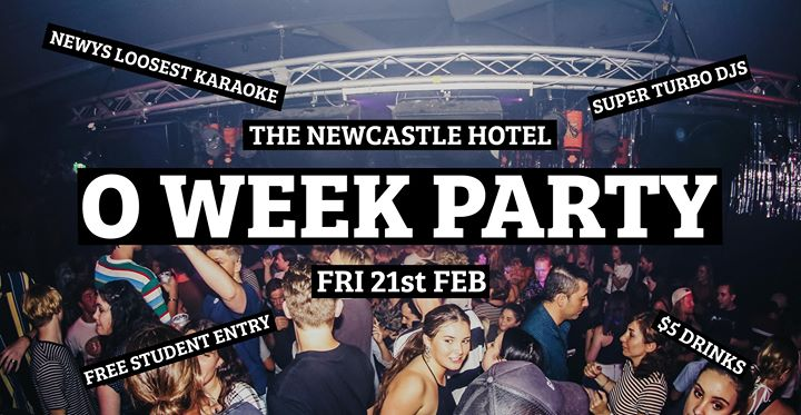O Week Party • Friday Night • The Newy • $5 Drinks