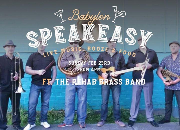 Speakeasy Sunday – Rehab Brass Band