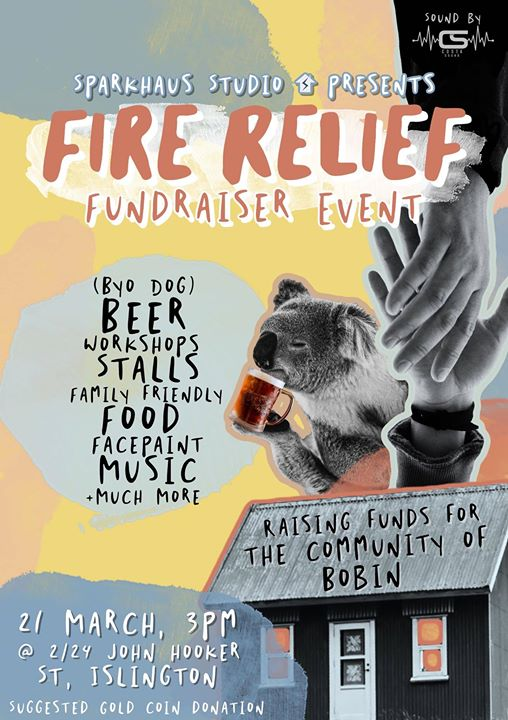 Fire Relief Fundraiser Market Day