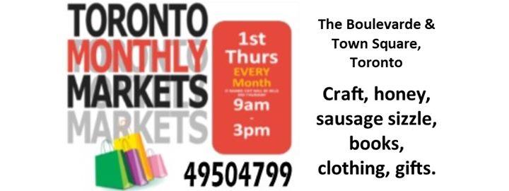 Toronto Monthly Markets