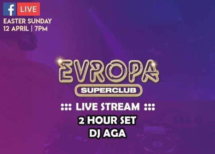 EvropaLive – 2 HOUR SET