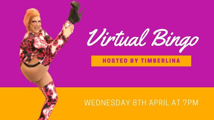 Virtual Bingo with Timberlina   Wednesday, 8th April