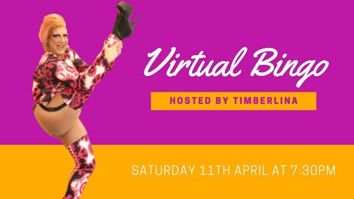 Virtual Bingo with Timberlina   Saturday, 11th April