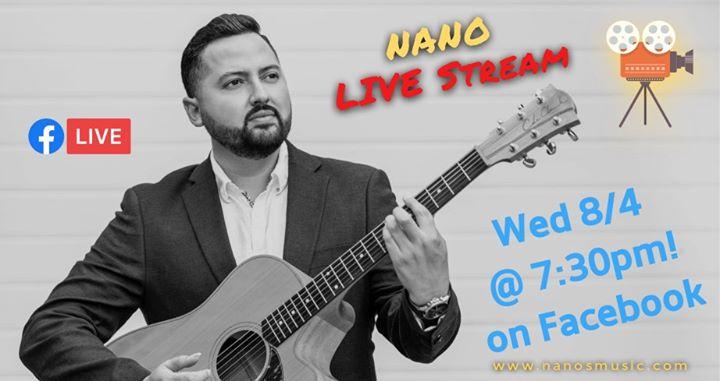 Live Stream – Isolation Session – Nanos Music