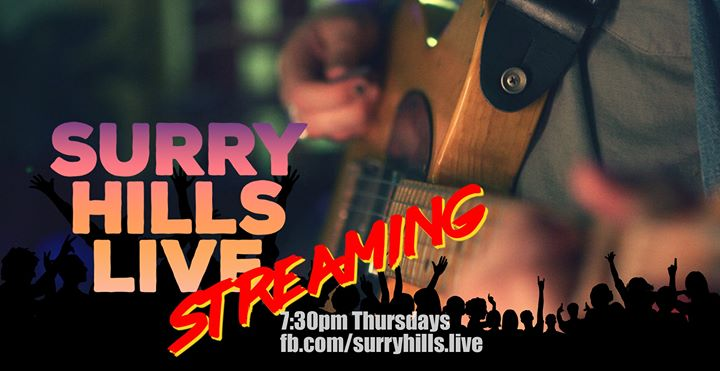 Surry Hills Live – NOW Streaming!