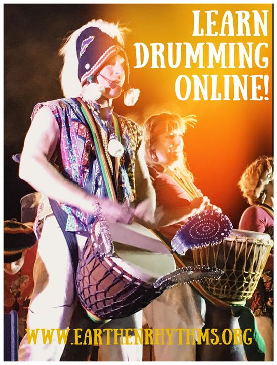 9 Wk Online Drumming Course 2020 w/Benjie (Weds)