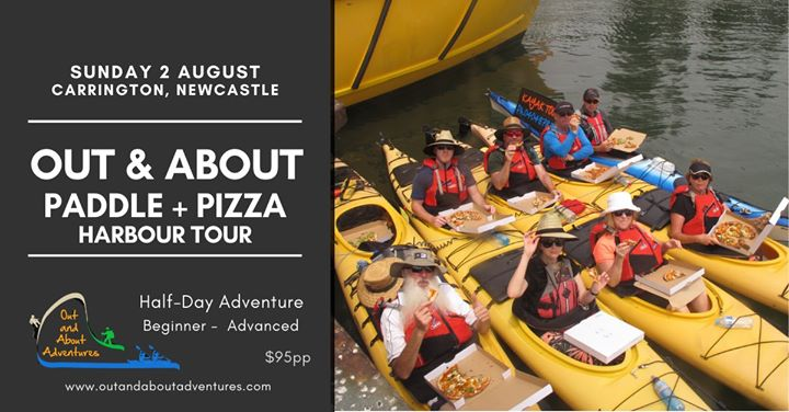 Out & About Paddle & Pizza – Newcastle Harbour